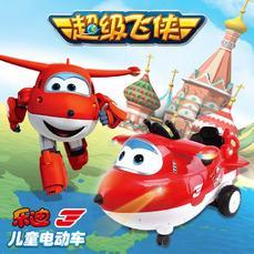 恒泰超级飞侠正版授权儿童电动车