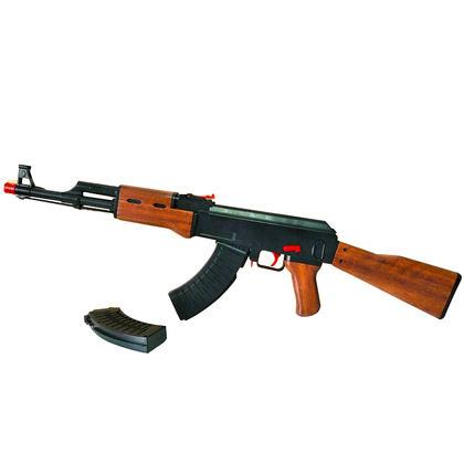 杨楷AK47水弹枪升级版下供弹