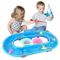 电动水循环钓鱼玩具